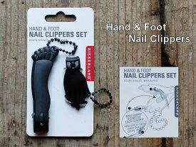 Hand & Foot Nail Clipper (ハンド&フットネイルクリッパー) 爪切り キッカーランド Detail アメリカ KIKKERLAND