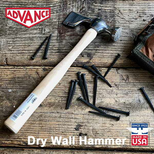 Dry Wall Hammer ドライウォールハンマー 金槌 ADVANCE USA アメリカ製 DETAIL