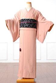 【レンタル】 ツモリチサト 訪問着レンタルフルセット 8AD24 tsumori chisato 訪問着 レンタル 着物レンタル レンタル着物 着物 着物 貸衣装 ピンク ネコモチーフ 149cm〜167cm位まで 足袋・肌着プレゼント