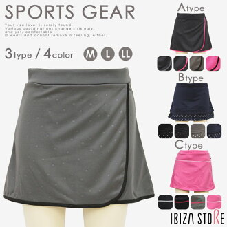 ★ fitness skirt / sports walking yoga reflection gym running fast-dry water absorption fast-dry sweat perspiration fast-dry stretch 5185 1426 1456*2/ya available from 3 designs