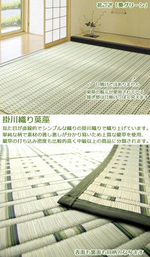 い草カーペット『花ござ葵』