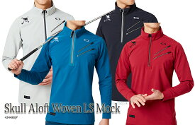 【◆】オークリーSKULL ALOFT WOVEN LS MOCK【434486JP】 OAKLEY モックシャツ【2019年秋冬モデル】