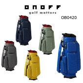 【★】【予約】【2020年2月中旬発売予定】ONOFFオノフゴルフキャディバッグOB04202020年モデル
