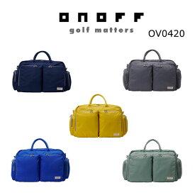 【◆】ONOFF オノフ ゴルフ ボストンバッグ OV0420 【2020年最新モデル】