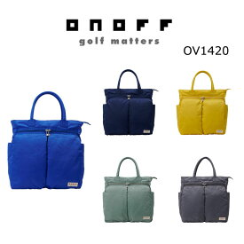 【◆】ONOFF オノフ ゴルフ ボストンバッグ OV1420 【2020年最新モデル】