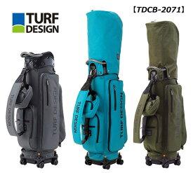 【◆】ターフデザイン 4輪ローラー キャディバッグ TDCB-2071朝日ゴルフ TURF DESIGN 2021年継続モデル