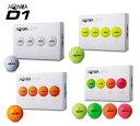 【◆】【在庫限りの激安でございます。】本間ゴルフ(BT-1801)D1ホンマ ゴルフ HONMA D1 ゴルフボール1ダース bt1801