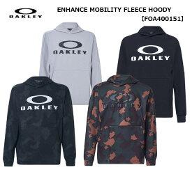 【◆】【今だからこそお値打ちに!】【FOA400151】オークリー ENHANCE MOBIRITY FLEECE HOODY OAKLEY メンズ トレーニング ウェア スウェット パーカー ジャケット【2020年春夏モデル】【即納可】