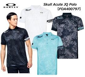 【◆】【今だからこそお値打ちに!】【FOA400797】オークリー Skull Acute JQ Polo OAKLEY メンズ ゴルフ ウェア ポロシャツ 【2020年春夏モデル】【即納可】
