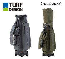 【12月1日0時〜23時59分までポイント5倍です!】ターフデザイン キャディバッグ 【TDCB-2071】朝日ゴルフ TURF DESIGN2020年モデル