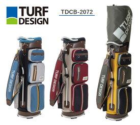 【◆】ターフデザイン キャディバッグ 【TDCB-2072】朝日ゴルフ TURF DESIGN2021年モデル