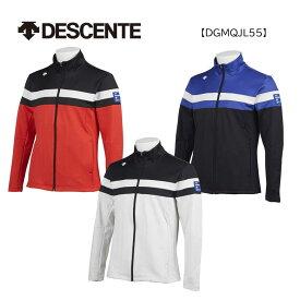 【◆】★【即納です!】デサントゴルフ メンズ ゴルフウェア DGMQJL55長袖 ストレッチ スムース 裏起毛 ジャケット 2020年モデル DESCENTE GOLF