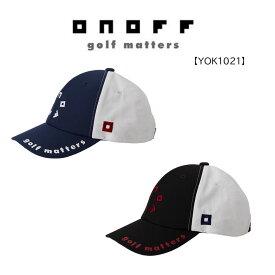 【◆】YOK1021 オノフ ゴルフ キャップ ONOFF メンズ 吸汗速乾 帽子 CAP2021年モデル