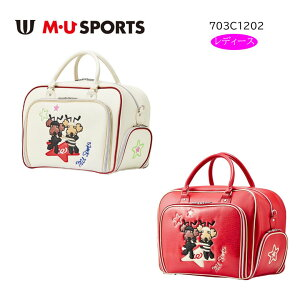 【◆】M・Uスポーツ【703C1202】エムユースポーツ ボストンバッグ レディース(ミエコ・ウエサコ)【2020年NEWモデル】