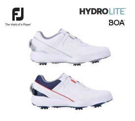 【◆】【即納です!】フットジョイ メンズ ゴルフシューズ ハイドロライト ボア【50057 50058】HYDROLITE BOA ソフトスパイク (2E〜3E相当)FJ FOOTJOY 2021年モデル
