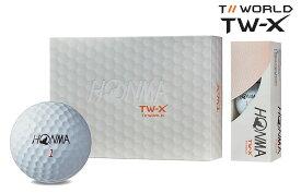 【★】【2019年モデル】本間ゴルフ ツアーワールド TW-XHONMAgolf TOUR WORLD TWーXボール BT-1802 1ダース
