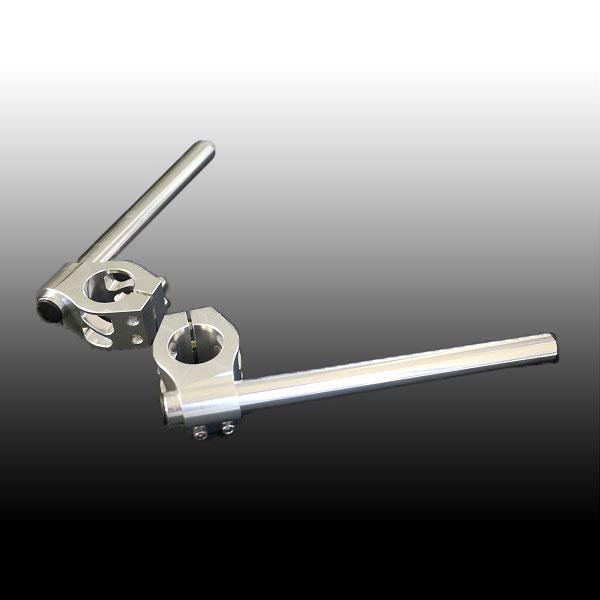 セパハン φ37 37パイ 銀 NINJA250R等フォーク径37mm用 汎用品