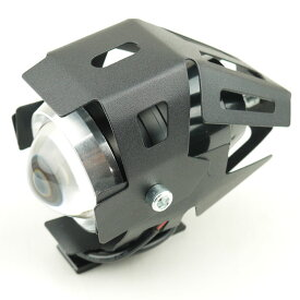 LEDプロジェクターフォグCREE U5 スポーツスターXL883 XL1200 S1 M2 X1ライトニングXB9 XB12RフサベルハスクバーナKTMトライクATVミニモト