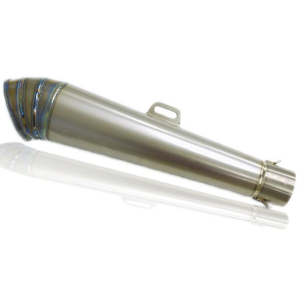 コニカルGPサイレンサー チタン φ60.5 汎用 CB1100 CBR900RR CBR1000RR VFR800 VTR1000 CB1000SF CB1300SF CBR1100XX