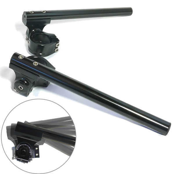 セパハン φ50 50パイ 黒 角度調節式HIGH GSX-R1000等フォーク径50mm用 汎用品