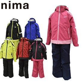 スキーウェア ジュニア 130 140 150 160 雪遊び セール 上下セット ニーマ nima キッズ JR-8007 あす楽対応_北海道