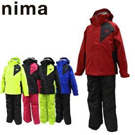 スキーウェア ジュニア 130 140 150 160 雪遊び セール 上下セット ニーマ nima キッズ JR-8008 ボーイズ ガールズ