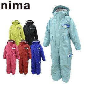 スキーウェア キッズ 100 110 120 雪遊び ワンピース ジャンプスーツ ジュニア ニーマ nima JR-8059 あす楽対応_北海道