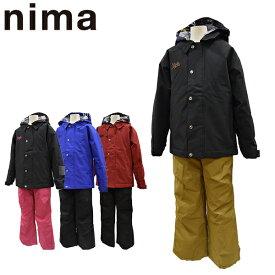 スキーウェア ジュニア 130 140 150 160 雪遊び セール 上下セット ニーマ nima キッズ JR-8006 あす楽対応_北海道 ボーイズ ガールズ