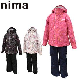 スキーウェア ジュニア 130 140 150 160 雪遊び セール 上下セット ニーマ nima キッズ JR-8009 あす楽対応_北海道