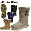 ノースデート/ノースデイト/North Date レディース スノーシューズ スノーブーツ ウインターシューズ ウインターブー…