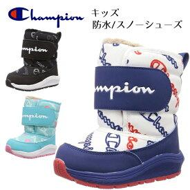 チャンピオン ブーツ キッズ ジュニア 子供 冬 靴 スノーシューズ ダウンブーツ 防水 防滑 ウインターシューズ スノーブーツ Champion KIDS SPLASH COURT2 CP KSC031W あす楽対応_北海道 BOS