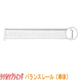タチカワブラインド製 装飾カーテンレール/バランスレール(単体) 規格品/サイズ3.4m