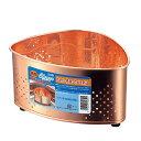 純銅 三角コーナー ごみ入れ 銅製品 キッチン ◆送料無料◆ 銅製 コーナー 生ごみ入れ シンクコーナー 生活排水を浄化…