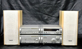 Junk special price Panasonic Panasonic SC-HD615MD personal minicomponent (MD stereo system )(CD/MD component stereo)