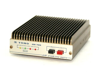 Only junky bargain higashino Electric Co., Ltd. TONO 4M-70G UHF all mode linear amp (UHF all mode linear amplifier) power body only amateur radio.