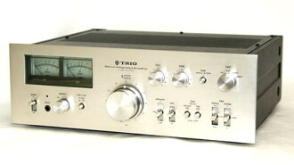 TRIO trio KA-7500 stereo pre and main amp car stereo