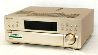 신속 발송+!가격인하 교섭 환영! 1점만 선착순 PIONEER 선구자 VSA-D7 (샴페인 골드) 돌비 디지털 디코더 내장 AV앰프 단체