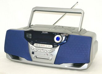 [Junk] SHARP sharp MD-F11 MD/CD MDLP system non-compliance (CD/MD / cassette-deck / boombox shape type) remote control missing