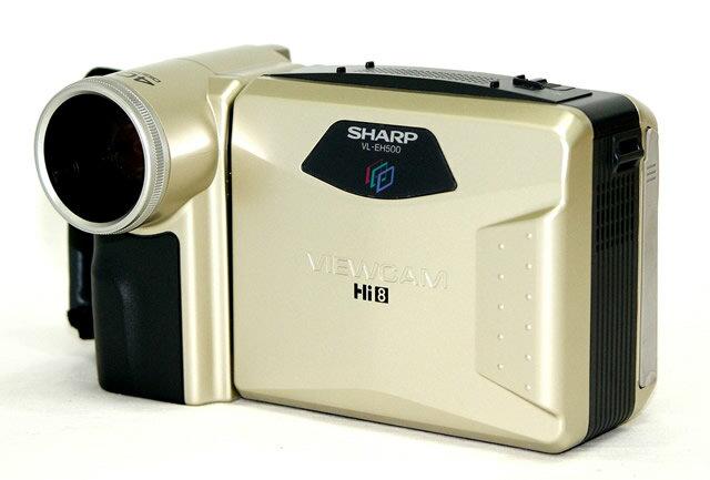 【中古】迅速発送+送料無料!値引交渉歓迎!1点のみ早い者勝ち <ほぼ未使用・超美品> SHARP シャープ VL-EH500 Hi8液晶ビューカム ハイエイトビデオカメラ(VideoHi8/8mmビデオカメラ)【@TA管理1-53-8138713】