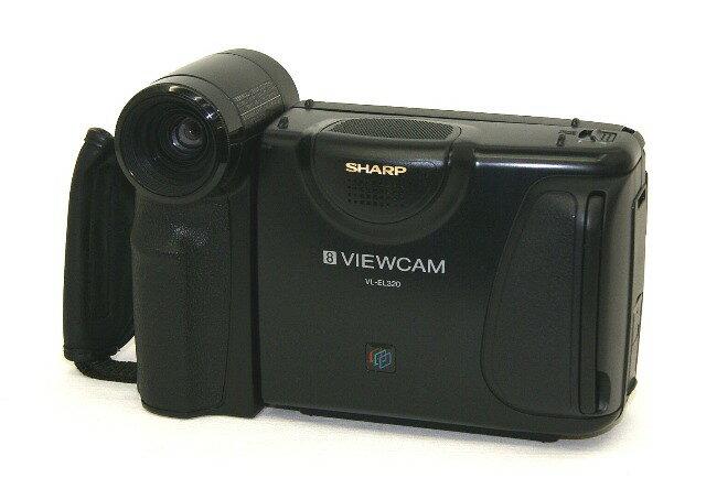 【中古】迅速発送+送料無料!値引交渉歓迎! 《ジャンク品》 SHARP シャープ VL-EL320 液晶ビューカム 8ミリビデオカメラ スタンダード8ミリ方式【@TA管理1-53R-1114939】