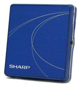 【中古】迅速発送+送料無料+動作保証!値引交渉歓迎! SHARP シャープ MD-K601-A ブルー ポータブルMDプレーヤー MDLP対応(MD再生専用機) 汎用充電池(未使用品)1本おまけ【@YA管理1-53-30600768】