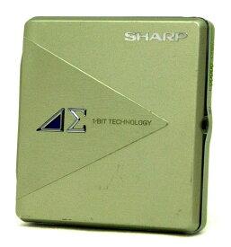 【中古】迅速発送+送料無料+動作保証!値引交渉歓迎! SHARP シャープ MD-DS5-G グリーン モバイル1ビットデジタルアンプ搭載 ポータブルMDプレーヤー(MD再生専用機) MDLP対応 汎用充電池(未使用品) 1本おまけ【@YA管理1-53-30206022】