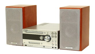 迅速的发送++动作保证!! KENWOOD建伍JVC UD-A77-M(木纹)CD/MD/USB小型Hi-Fi系统(本体RD-UDA77和音箱LS-UDA77-M的安排)
