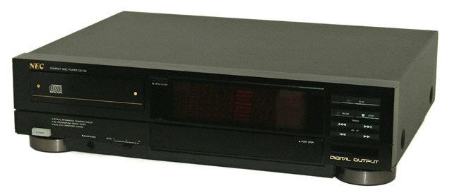 【中古】迅速発送+送料無料+動作保証!値引交渉歓迎! NEC 日本電気 CD-720 CDプレーヤー(CDデッキ) 単体コンポ リモコン代替品【@YA管理1-53-47Y0847】