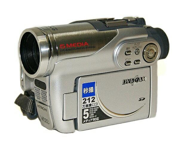 【激安アウトレット】迅速発送+送料無料!!1点のみ早い者勝ち《未使用品》 HITACHI 日立 DZ-GX3200 シルバー DVDビデオカメラ「Wooo」シリーズ(8cmDVDビデオカメラ) 212万画素【@YA管理1-53-60109983】
