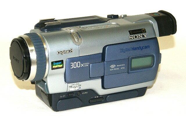 【中古】迅速発送+送料無料+動作保証!! SONY ソニー DCR-TRV300K デジタルビデオカメラレコーダー ハンディカム Digital8(デジタルエイト) SUPER NIGHTSHOT機能【@YA管理1-53-14681】