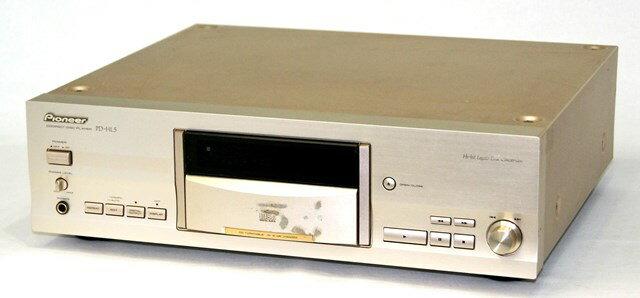 【中古】迅速発送+送料無料+動作保証!! PIONEER パイオニア PD-HL5 CDプレイヤー(CDデッキ) ターンテーブル方式 リモコン代替品【@YA管理1-53-UEAH003374JP】