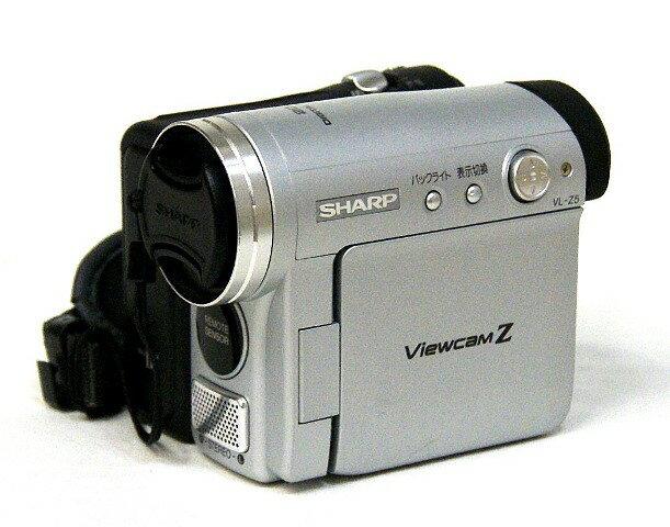 【中古】迅速発送+送料無料+動作保証!! SHARP シャープ VL-Z5-S シルバー デジタルビデオカメラ ミニDV方式【@YA管理1-53-6115476】