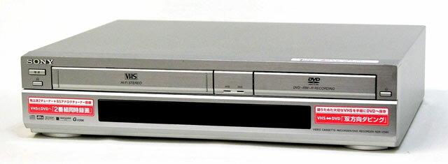 【中古】迅速発送+送料無料+動作保証!!<<概ね美品です>> SONY ソニー RDR-VD60 VHSビデオ一体型DVDレコーダー(VHS/DVDレコーダー) スゴ録【@YA管理1-53-6102185】