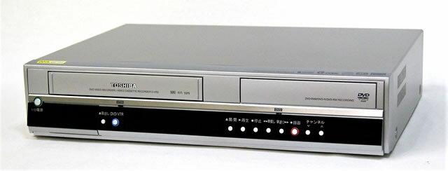 【中古】迅速発送+送料無料+動作保証!! TOSHIBA 東芝 D-VR5 VHS/DVDレコーダー(VTR一体型DVDレコーダー) HDD非搭載 地デジチューナー非搭載【@YA管理1-53-TT47Y24094】